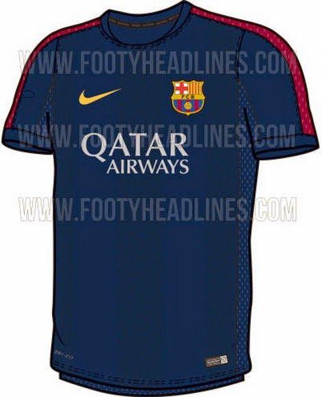 Nuevas camisetas del FC Barcelona para la temporada 2014-2015 ... 8fd8193e97725