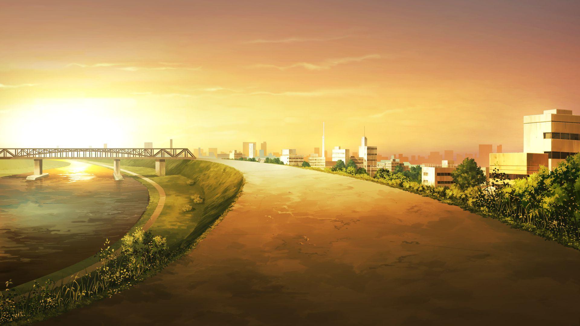 Anime Scenery wallpaper Anime scenery