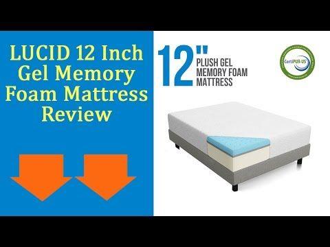 Lucid 12 Inch Gel Memory Foam Mattress Review Updated 2017 Best