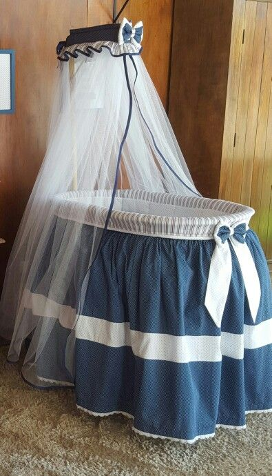 Moises De Mimbre Baby Baby Moses Basket Bassinet