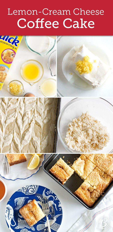 Lemon-Cream Cheese Coffee Cake | Recipe | Cream cheese ...