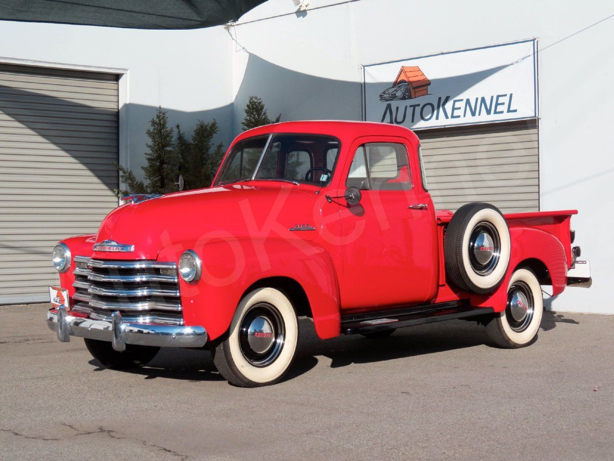 1953 Chevrolet 3100 1/2 Ton Maintenance of old vehicles: the material for new cogs/casters/gears could be cast polyamide which I (Cast polyamide) can produce