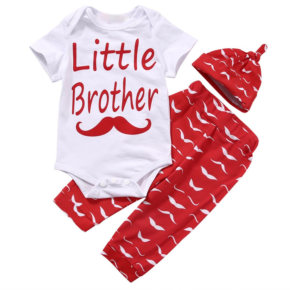 f04a41806 Click to Buy    Hi Hi Baby Store Newborn Little Brother Baby Boy ...
