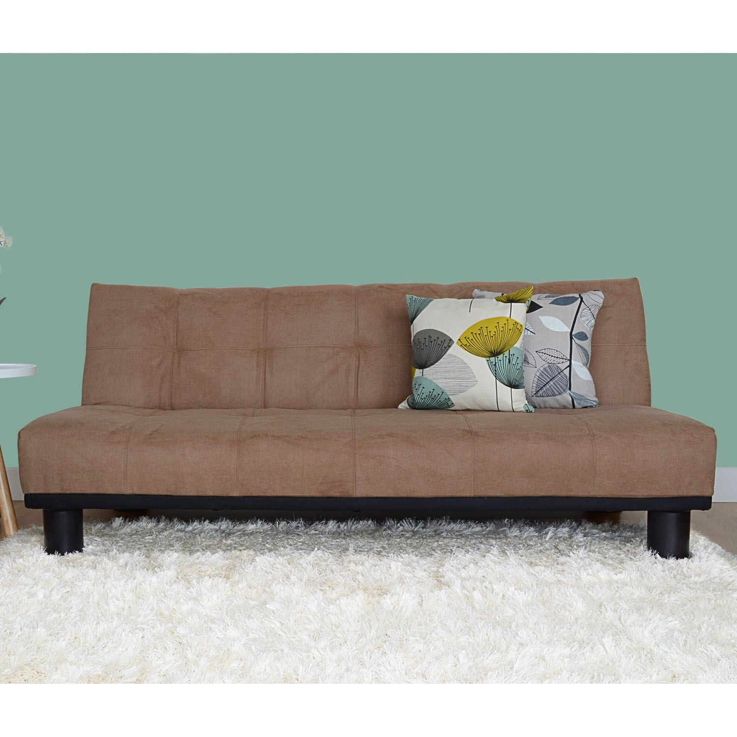Super Bella Mocha Brown Faux Suede Sofa Bed 185 Small Home Download Free Architecture Designs Scobabritishbridgeorg