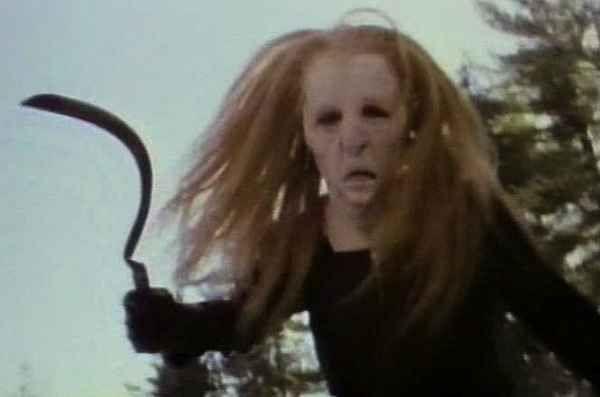 Curtains 1983 Scary Movies Scary Movie Mask Creepy Movies