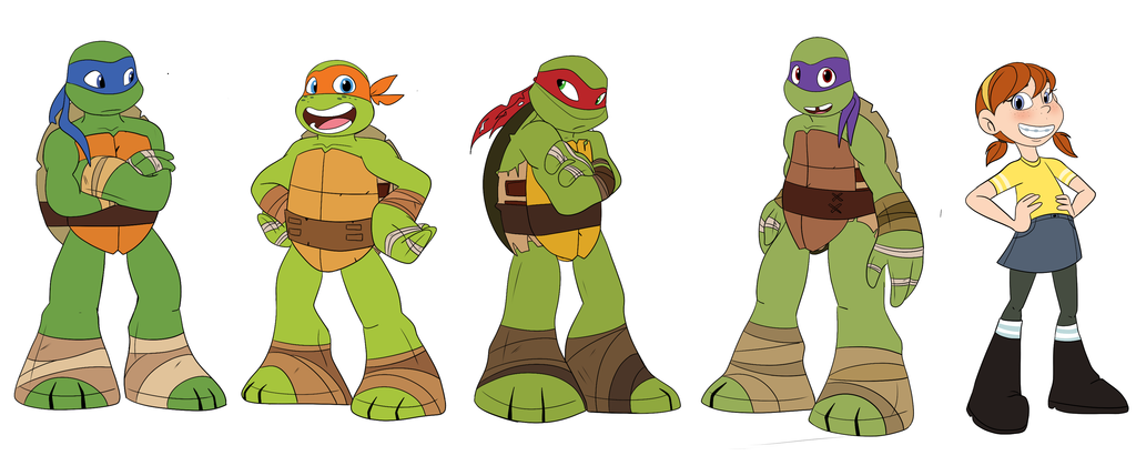 Turtle Tots and April Chart by Imaginationation on DeviantArt