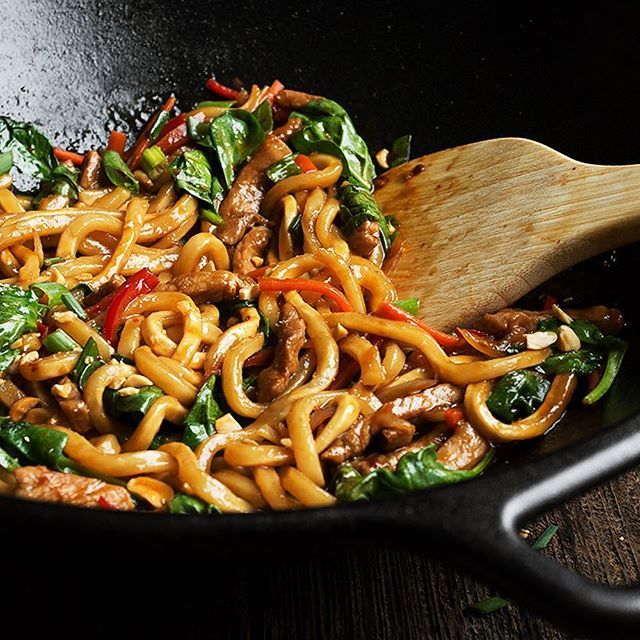 15 Minute Spicy Udon Stir Fry
