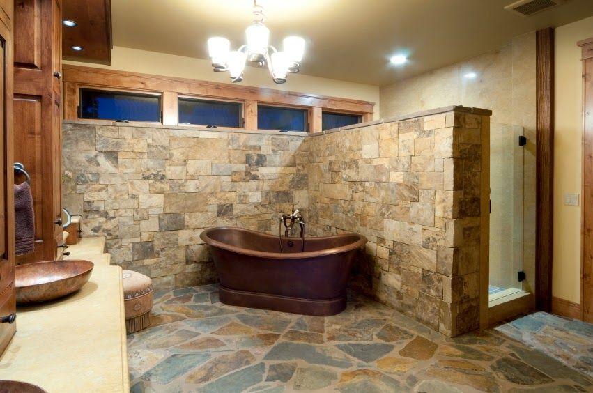 30 ideas de decoración para baños rústicos pequeños Decoration and