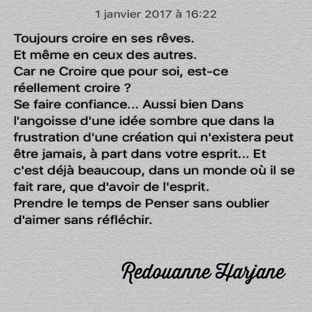 Redouanne Harjane.   https://www.facebook.com/OfficielRedouanneHarjane/
