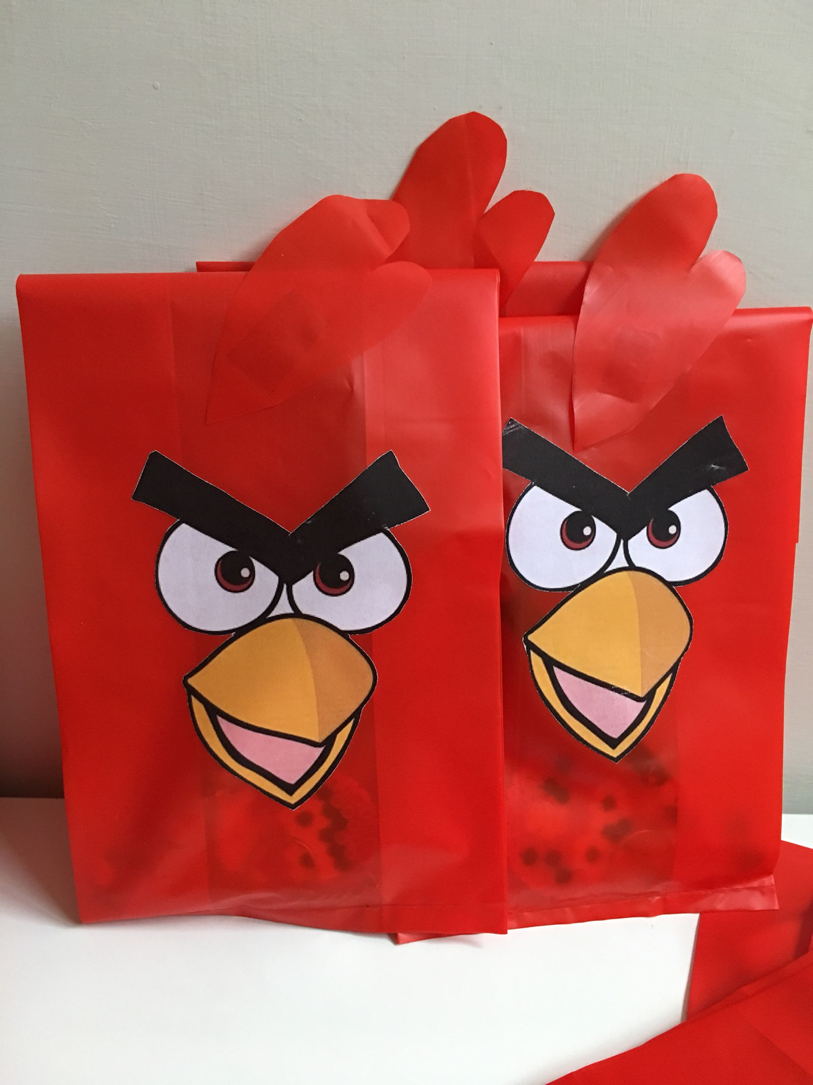 PARTY favor at miki's angrybirday
