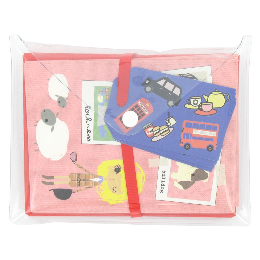 GB trippers notecards - pack of 10 from Paperchase