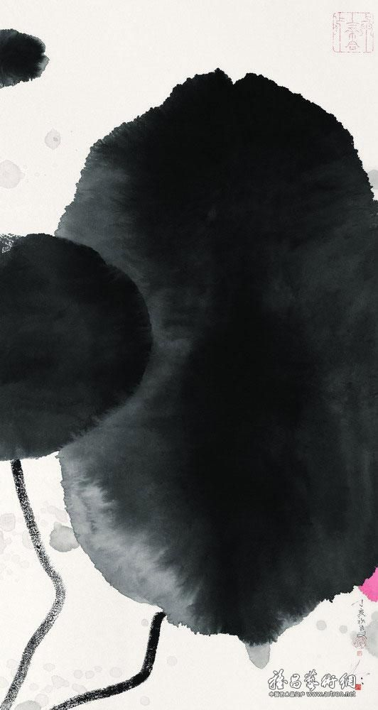 潇洒墨晕皆文章(四)《中国近现代名家画集——陈家泠》
