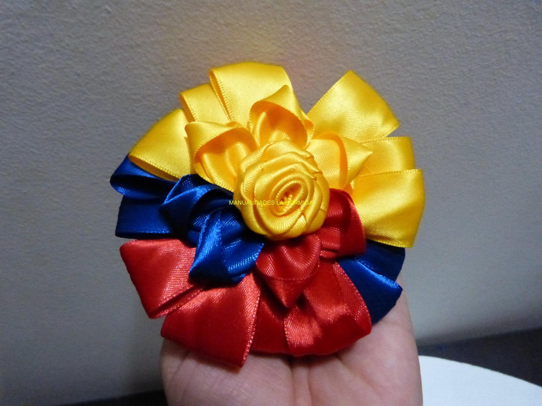Como Elaborar Moños Tricolores En Cinta Faciles Para El Cabello Paso A Paso Moños De Lazo Cinta Para El Cabello De Tela Lazo Para El Pelo De Niños