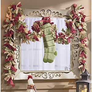 O What Fun Rag Garland from Through the Country Door® | NW39952