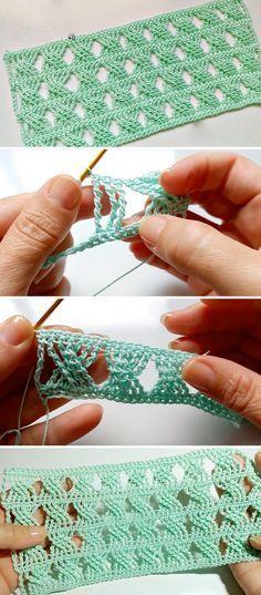 Point de crochet tressé facile à apprendre | CrochetBeja   – Häkeln