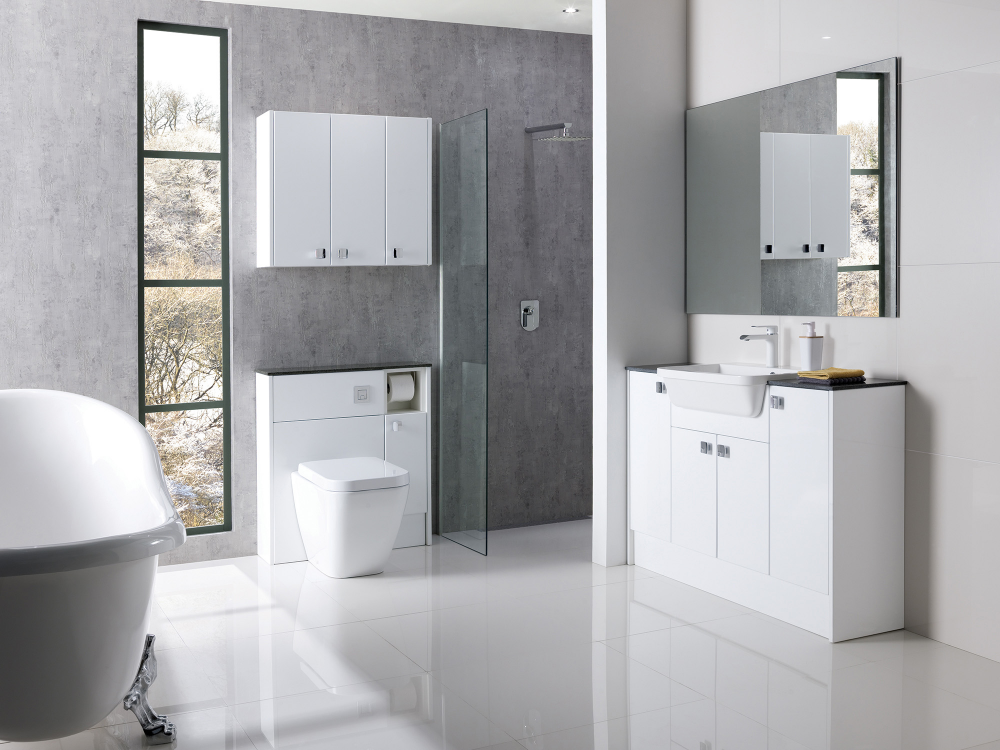 Brecon High Gloss White In 2020