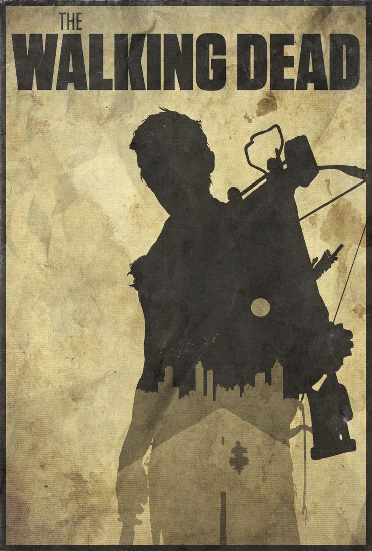the walking dead logo tv daryl silhouette - Google Search