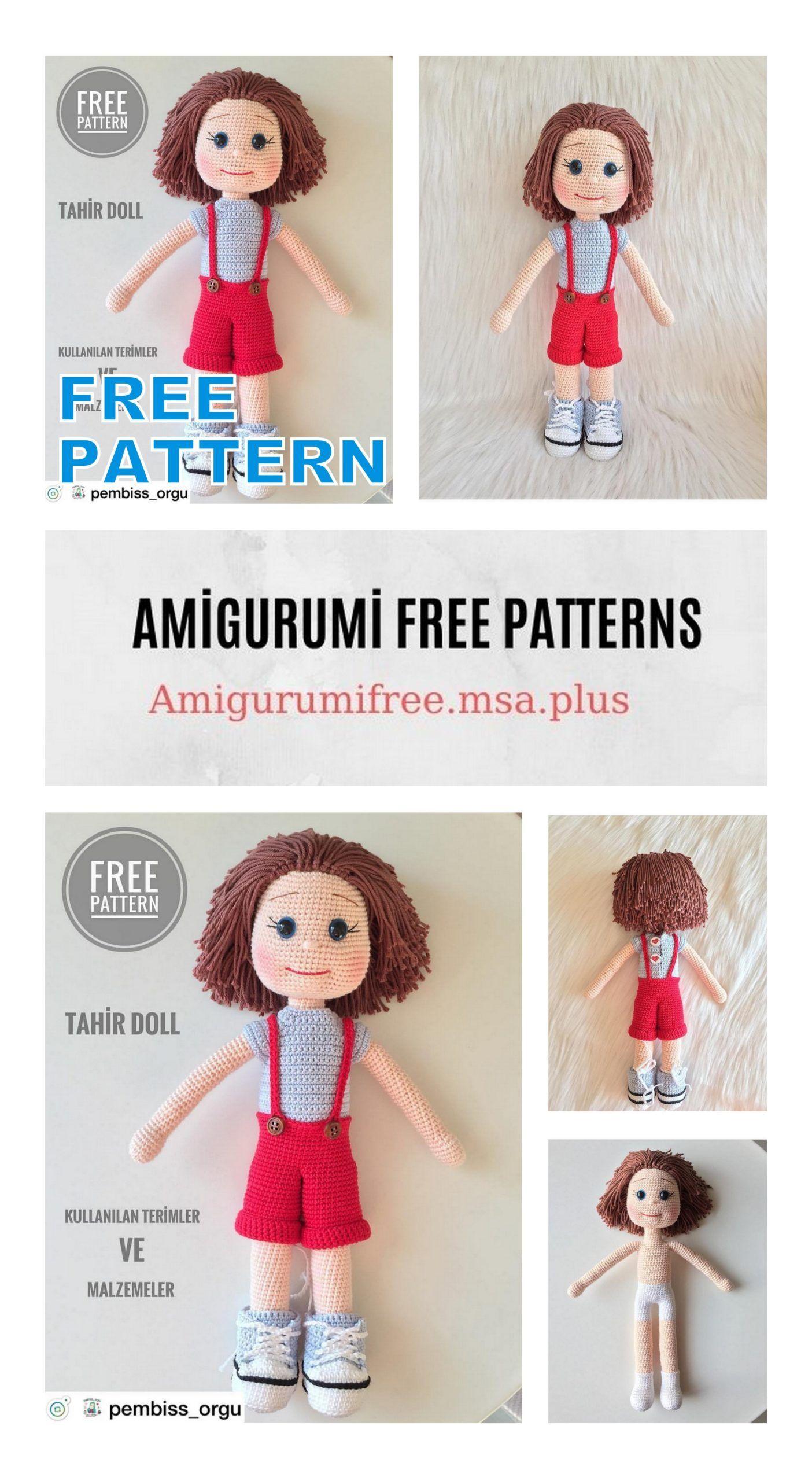 10 Top Best Amigurumi Doll Free Crochet Patterns in 2020 ... | 2560x1404