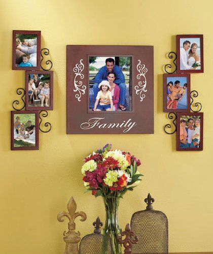 Family Wall Frame Set by XCT. $45.99. Display 7 photos of your ...