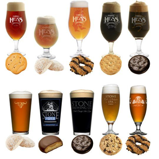 pair girl scout cookies with beer from san diego breweries