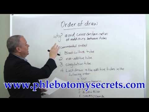 Phlebotomy Order of Draw | Med field | Pinterest | Phlebotomy ...