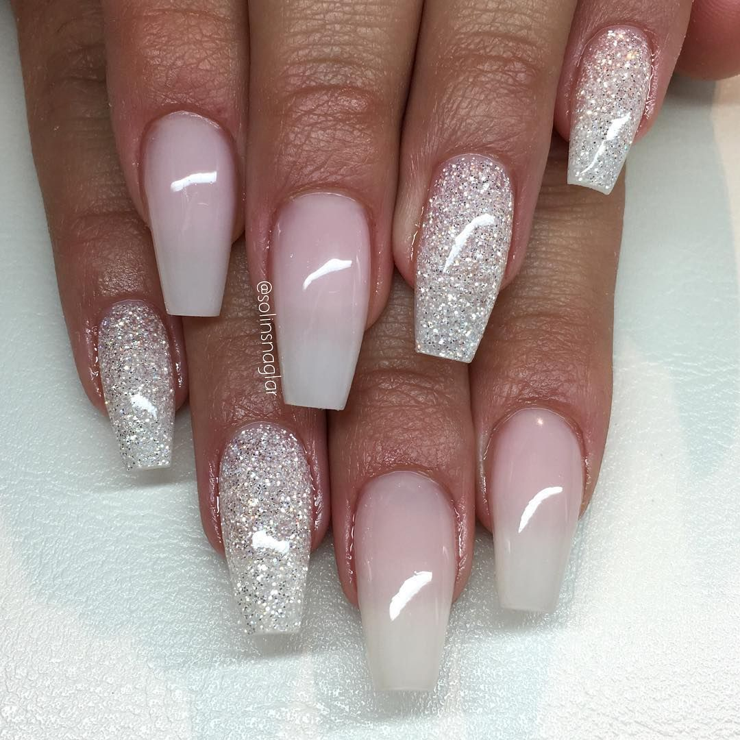 Frosted Pink (tunt) med Diamond"