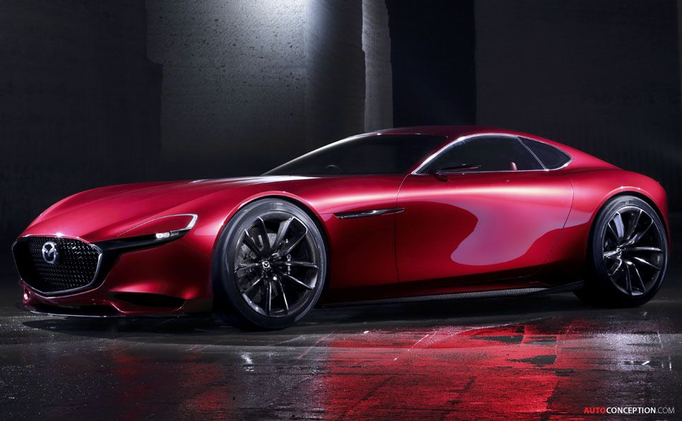 The Much Loved Mazda May Finally Have An Heir, With Mazda Revealing Its  Sleek RX Vision Sports Car Concept At The Tokyo Motor Show This Week.