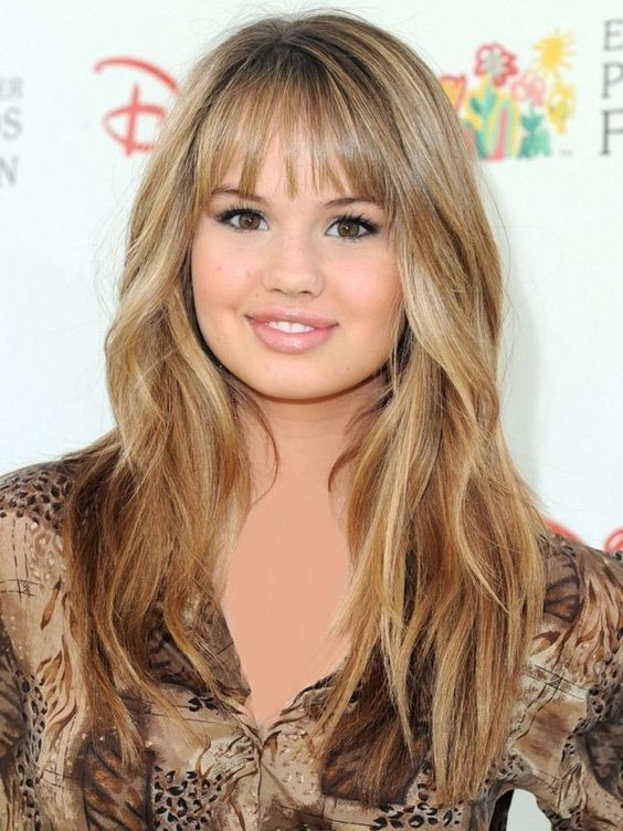 Medium Long Hairstyles with Bangs: