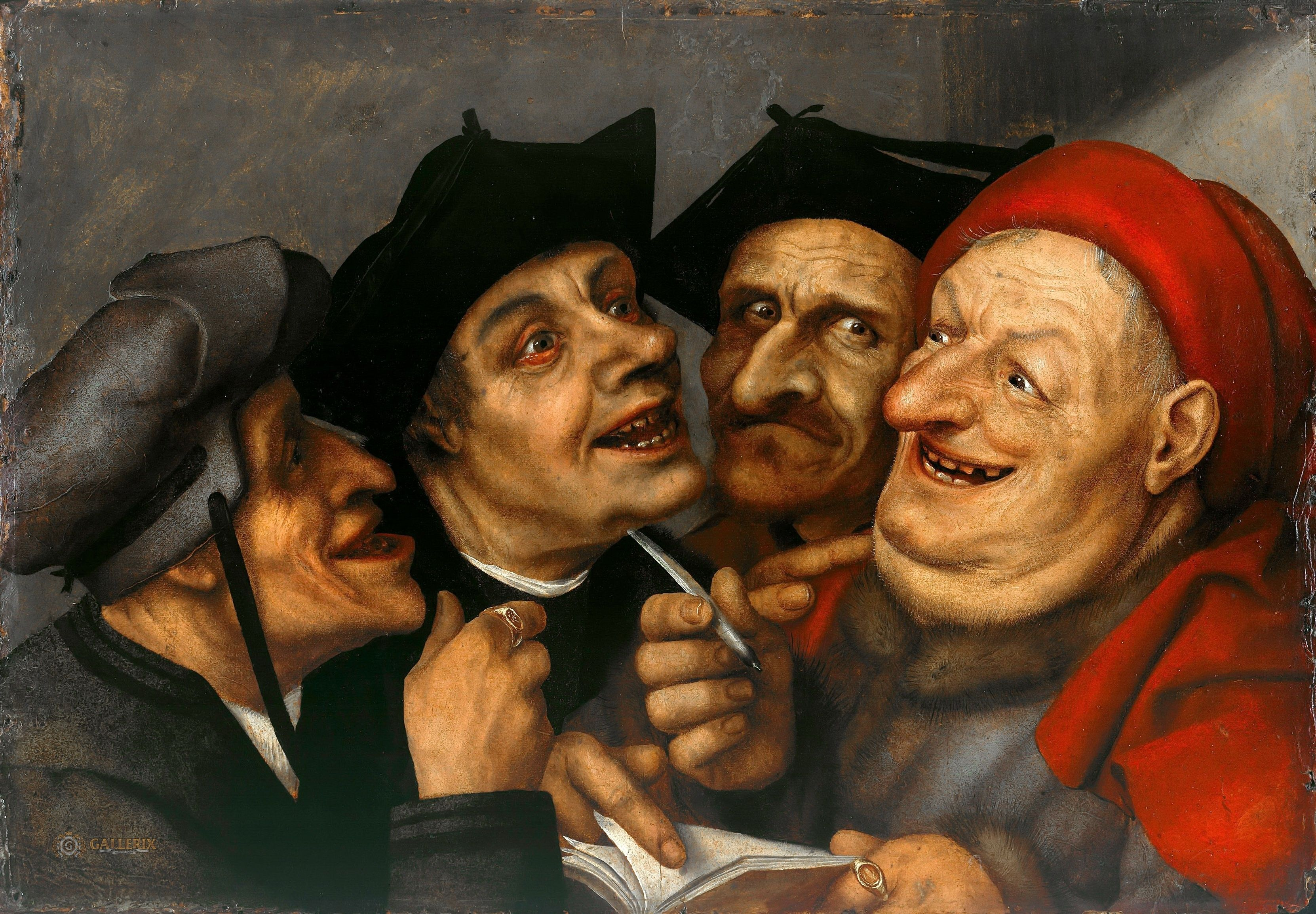 Quentin massys the purchase contract gem ldegalerie for Artist mural contract