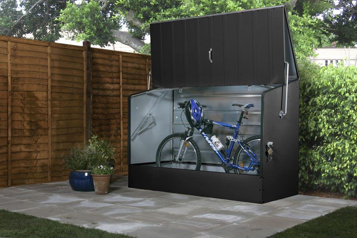 Abri à vélo métal 1.64m² TRIMETALS pas cher prix Abri à Vélo Auchan ...