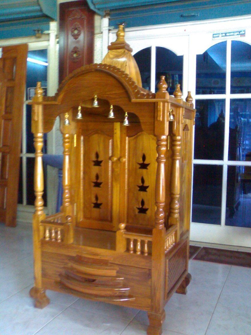 Amazing Mandir Designs For House. Puja RoomPrayer RoomTeak WoodHandmade ... Part 13