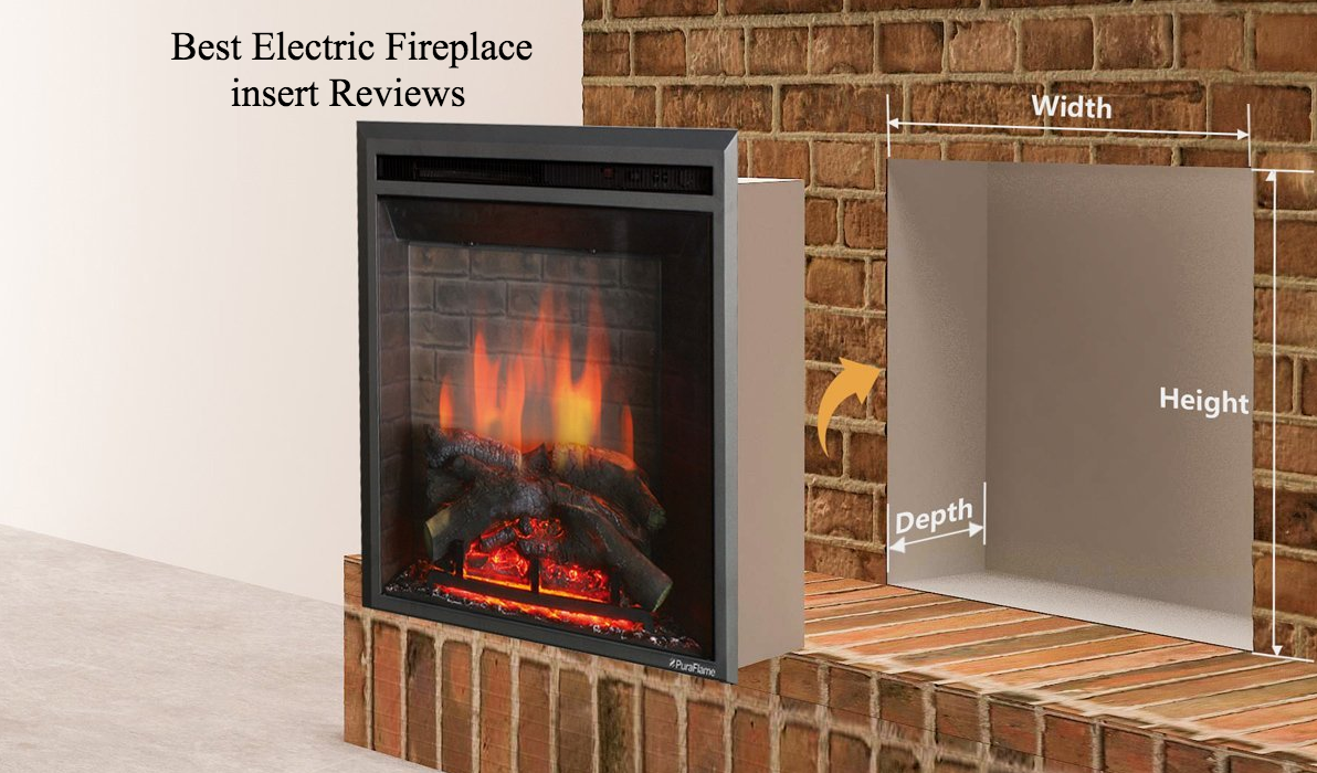 What Type Of Electric Fireplace Insert Best Suits You Do You Wish