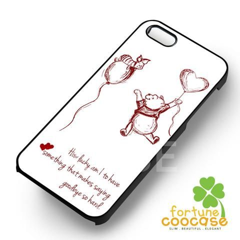 Disney Winnie The Pooh Piglet Friendship Quote iphone case