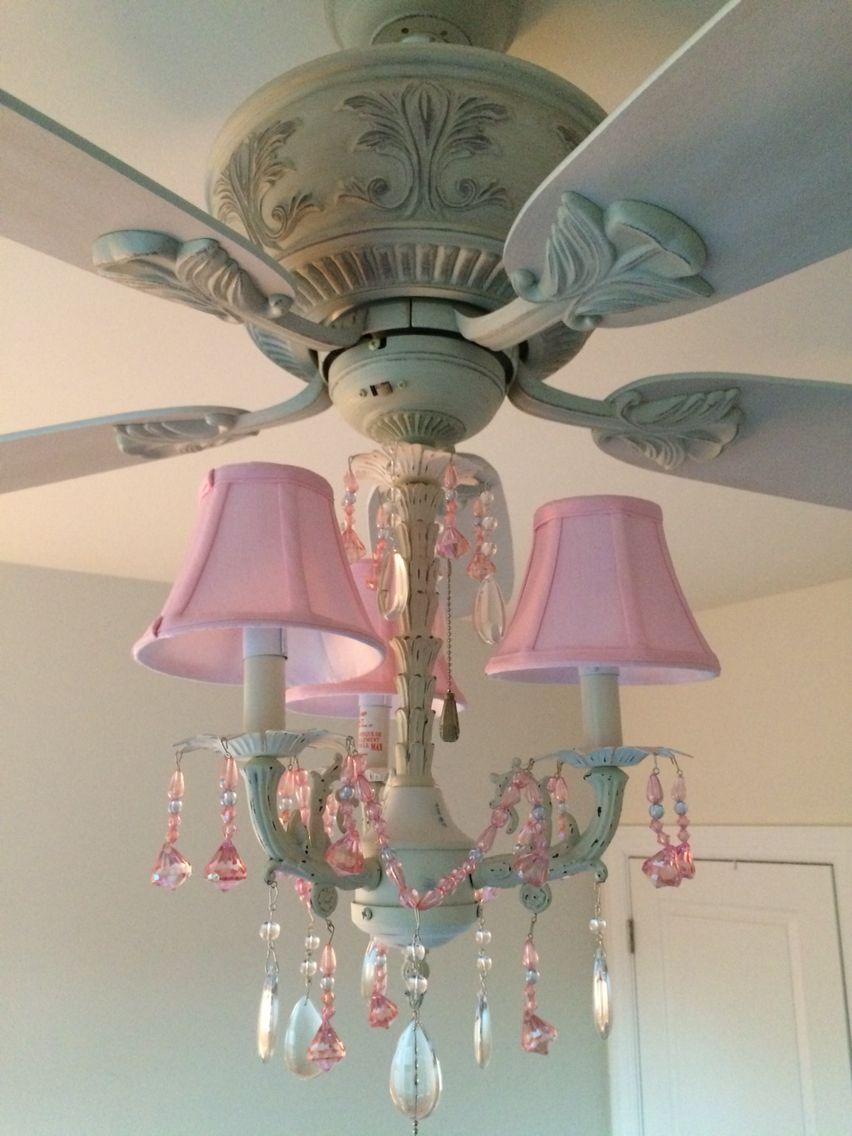 Lamps Plus Ceiling Fan Chandelier Light Kit Fandelier Stunning In My Princess