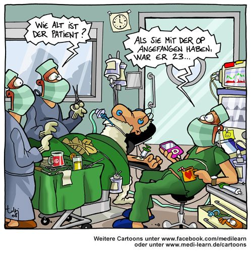 Maximal Invasiver Humor Lustige Cartoons Coole Cartoons Krankenhaus Humor