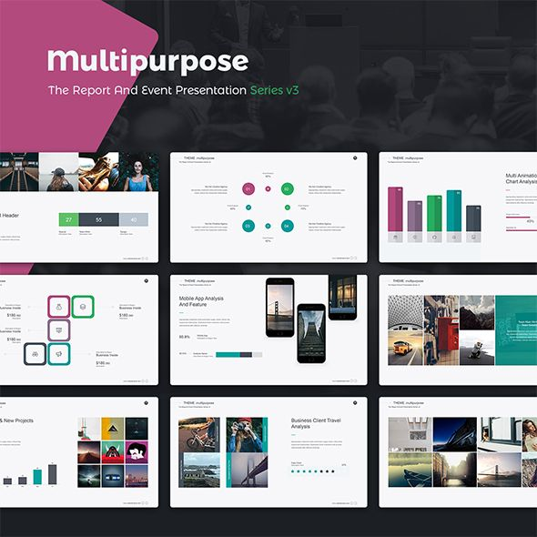Multipurpose Demo v3 (Powerpoint) PowerPoint Templates Creative