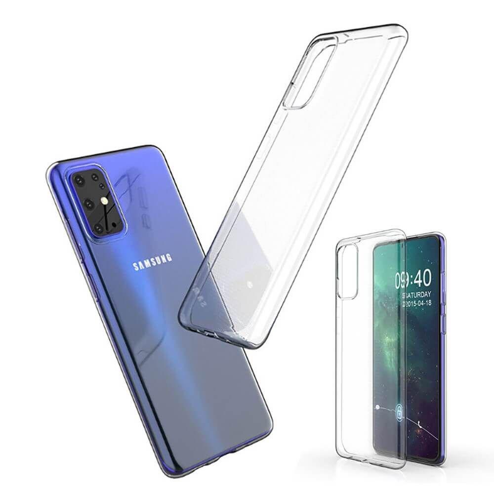Handyhülle für Samsung Galaxy S20+ / S11 Schutzhülle Silikon Case Klar