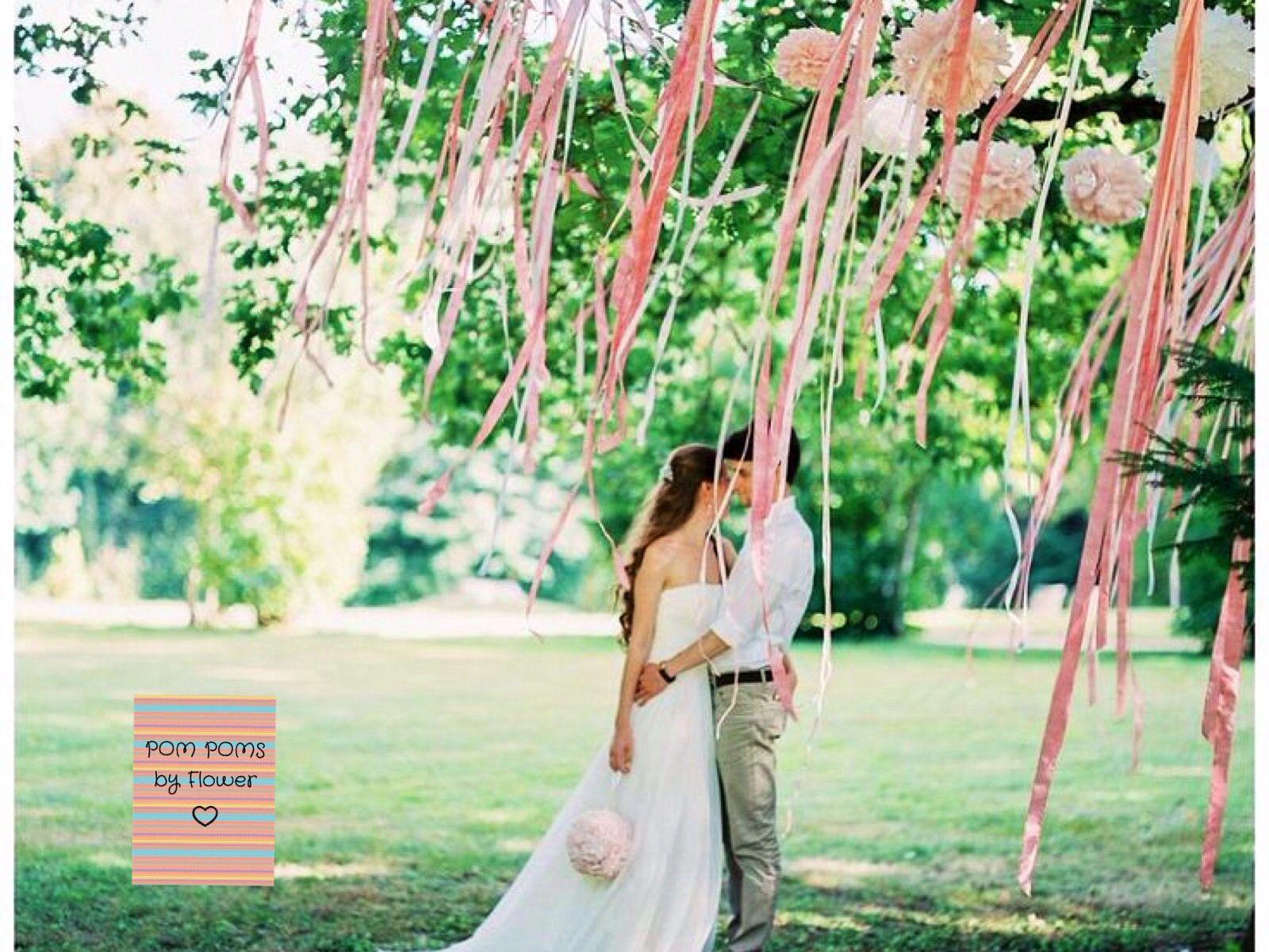 Hochzeit Gartenparty Tischdekoration Deko