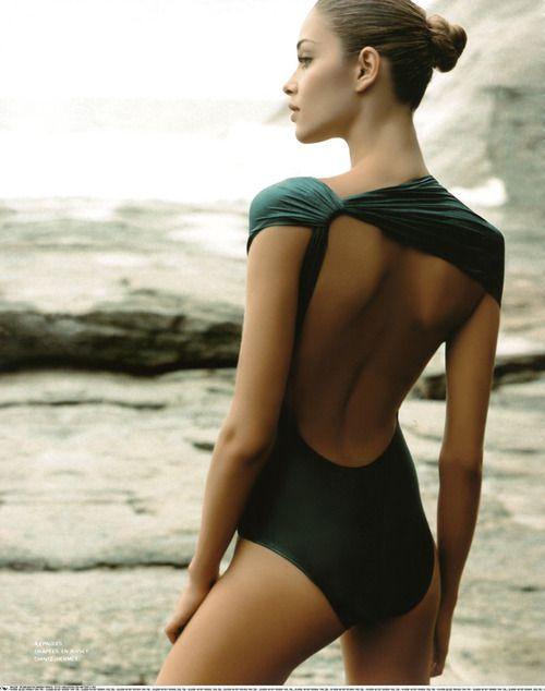 898e84e4d41b Deep green swimsuit.   Beach   Green swimsuit, Pretty swimsuits ...