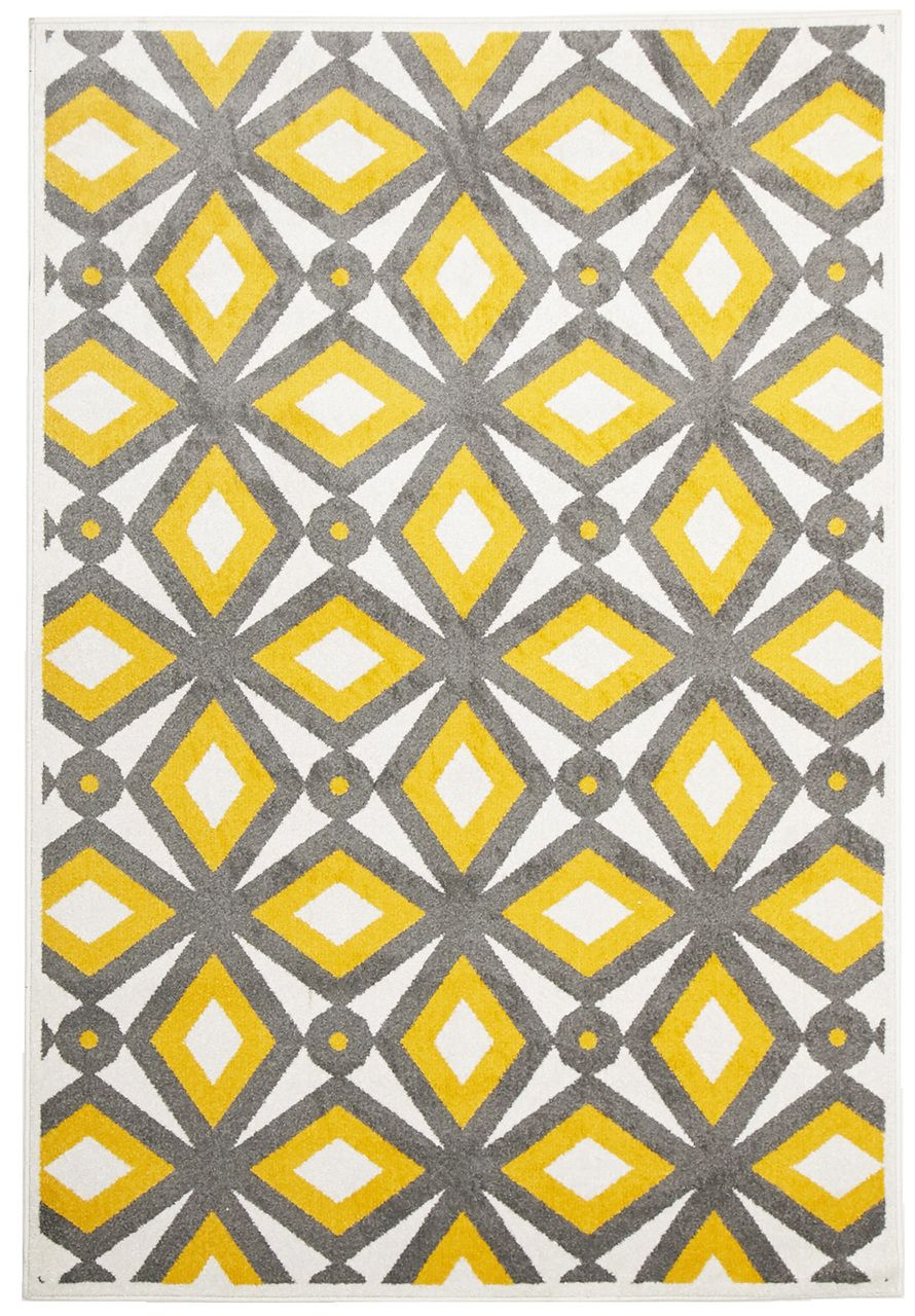 Matrix 302 Yellow Rug Pattern In 2019 Indoor Outdoor