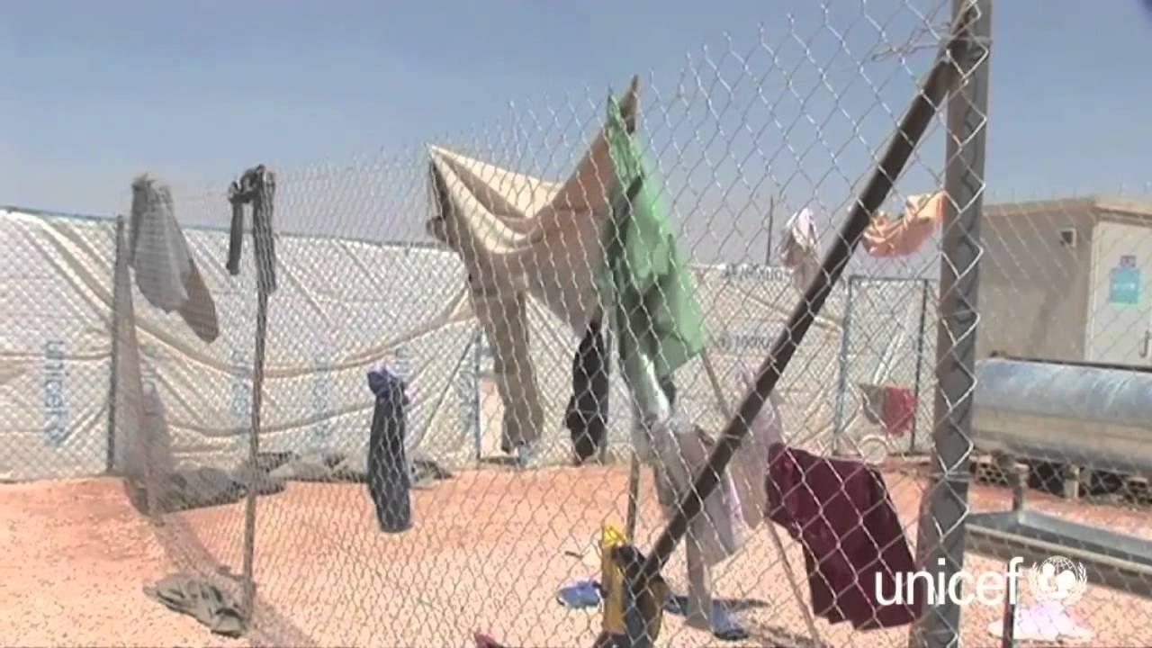 La vie dans un camps de réfugiés syriens - Géo Ado - Unicef