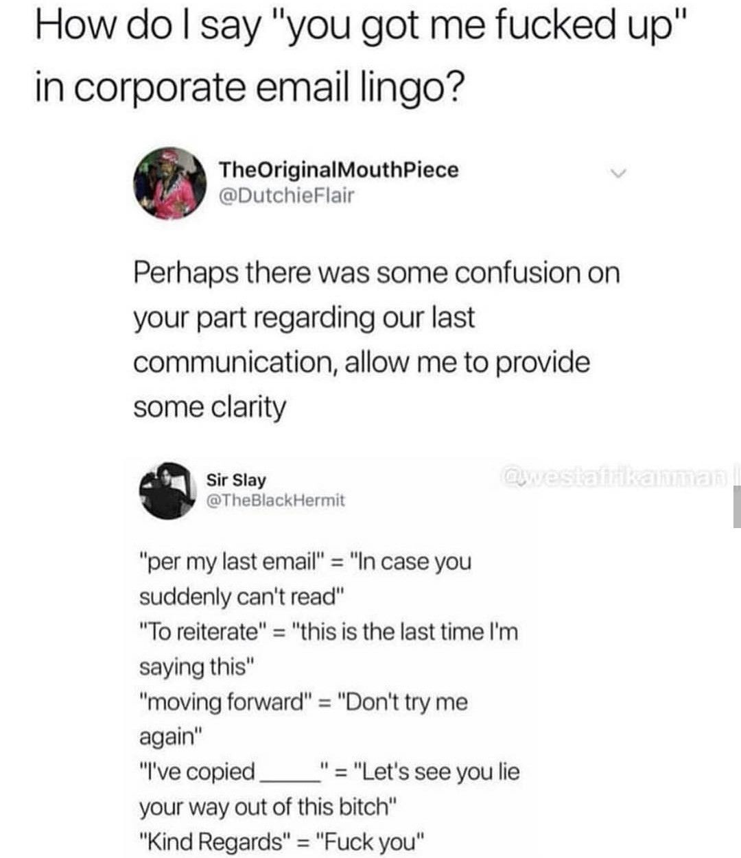 email etiquette funny