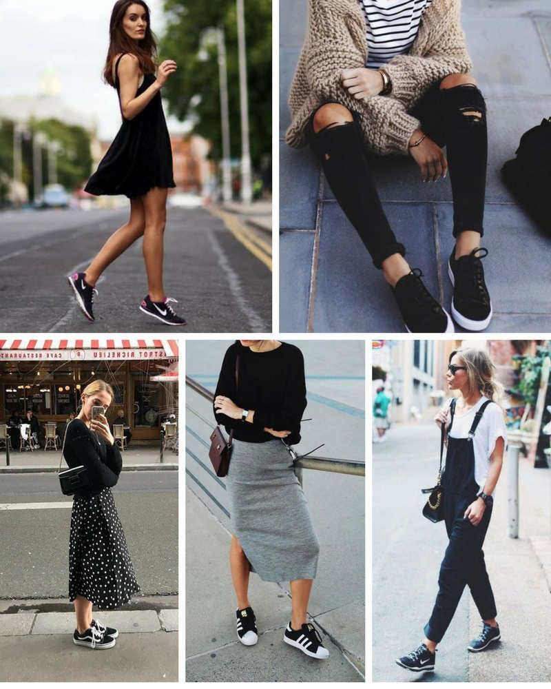 Se asemeja rotación Exención  Adidas Shoes 80% OFF!>> Ideas de cómo combinar unas zapatillas negras y  cuáles son mis favoritas … in 2020 | Sneaker outfits women, Casual shoes  outfit, Adidas outfit shoes
