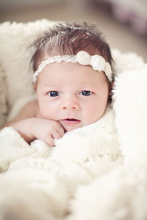 Baby Girl Newborn Photos Pinterest