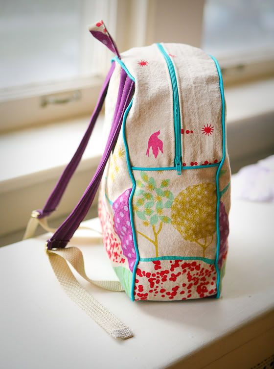 true bias  SEWN   MADE BY RAE S TODDLER BACKPACK  75872a1df5e42
