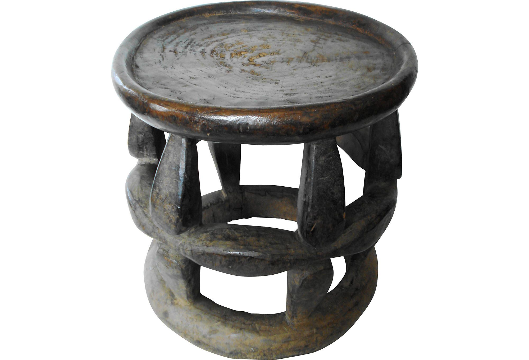 Pleasant Vintage Hand Carved Wood African Stool From The Hehe Tribe Forskolin Free Trial Chair Design Images Forskolin Free Trialorg