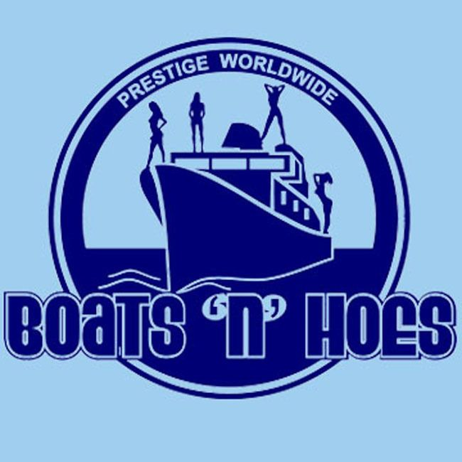 Boats N Hoes t shirt cool funny movie Step Brothers Anchorman Old School tee