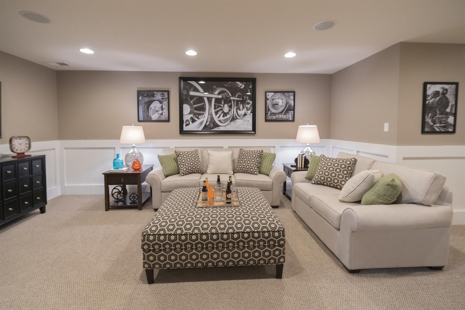 Basement Color Basement Living Rooms Basement Colors Basement