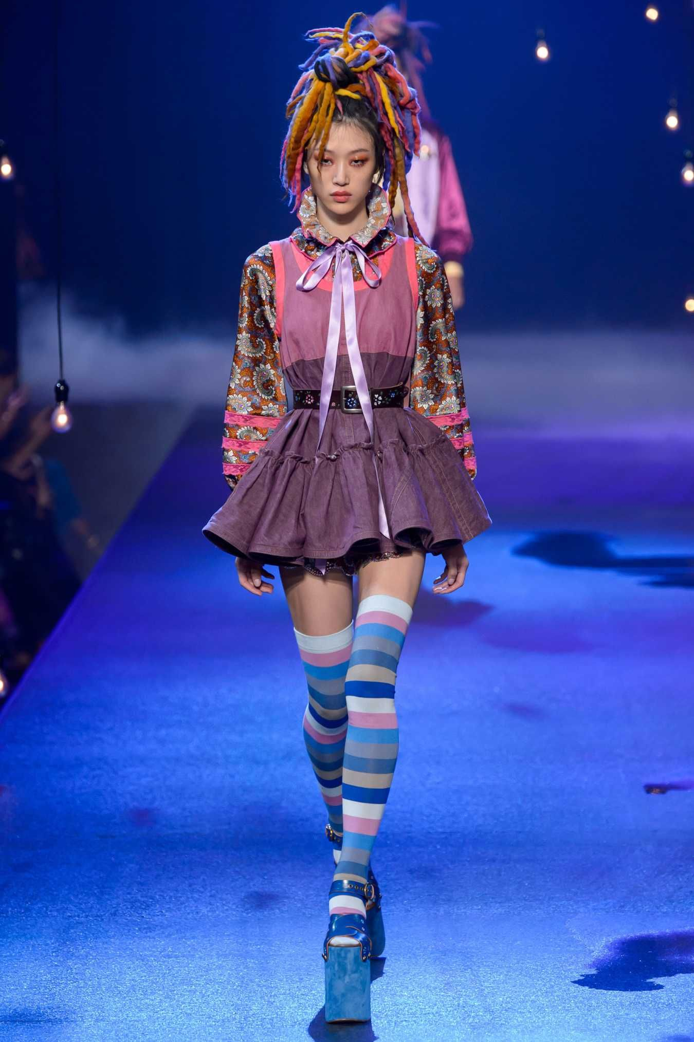 606480ef Marc Jacobs Closed NYFW With A Parade of Club Kids and Candy Ravers ...
