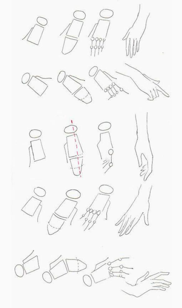Como Dibujar - Manos